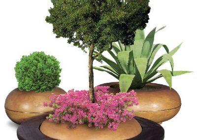 fioriera Armonia tonda